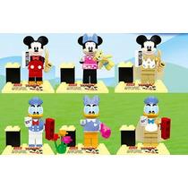 Set Raton Miguelito Daisy Donald Mimi Compatibles Con Lego