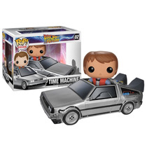 Funko Pop Rides Back To The Future Delorean Marty Mcfly