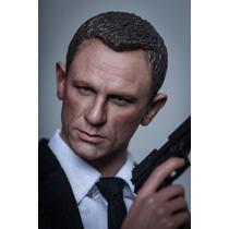 Custom Daniel Craig 007 James Bond 1/6 No Hot Toys