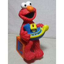 Alcancía Coleccionable Elmo De Plaza Sesamo