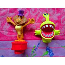 Figuras De Madagascar Y De Planta De Juegos Del Mc Donalds