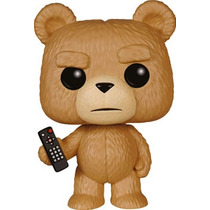 Funko Pop Ted With Remote Pelicula Ted 2 Nuevo Oso Vinyl
