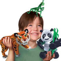 Panda Tigre Y Mantis Armables Juguetes Para Niños Foamy Bloc