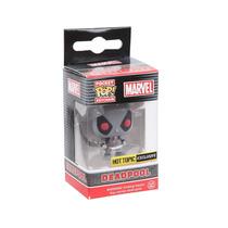 Funko Pop Llavero Deadpool Xforce Exclusivo Gris Marvel