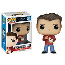 Funko Pop Joey Tribbiani And Duck Friends De Tv Serie Vinyl
