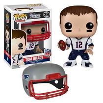 Funko Pop Nfl Tom Brady New England Patriots Visitante Jerse