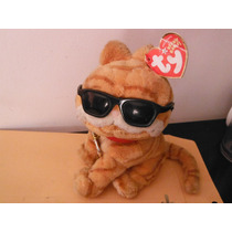 Peluche Garfield Cool Cat Ty Beanie Babie By Jim Davis Retro