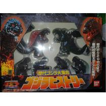 Godzilla / Ultraman / Kaiju / Set 6 Godzilla Vinyl Duro 12cm