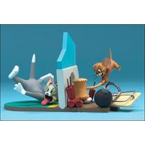 Mcfarlane Hanna Barbera - Tom And Jerry No Tresspasing