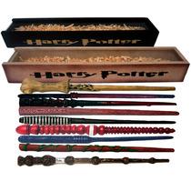 Harry Potter Varitas Coleccionables En Su Estuche