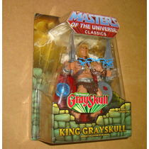 King Grayskull Master Of The Universe Classics He-man Matty