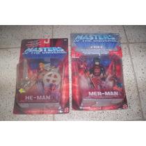He Man Master Of The Universe Precio X Las 2 Figuras