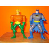 Figura Batman Y Acuaman Muñeco Pelicula Justicia Superman