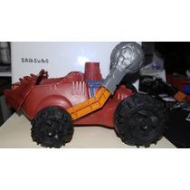 He-man Bashasaurio Vehículo Demoledor 1984