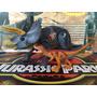 Jurassic Park Dinosaurios 3 Triceratops Con Velociraptor!!