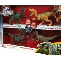Jurassic World Pack Velociraptor