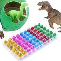 Aceshin 60pcs Eclosión Dinosaur Growing Dino Eggs Añadir Mág