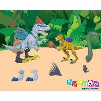 Jurassik Park Hero Mashers Rex Vs Velociraptor Hasbro