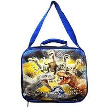 Jurásico Almuerzo Mundial Dinosaurios Parque Kit Box Bolsa C