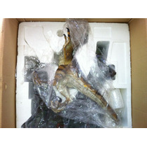 Jurassic Park Velociraptor De Resina Diorama