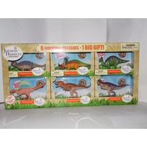 Set De 6 Dinosaurios Juarassic Hunters By Geoworld Colección