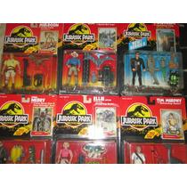 Lote De 6 Figuras Jurassic Park 1993 Nuevos Blister Sellado