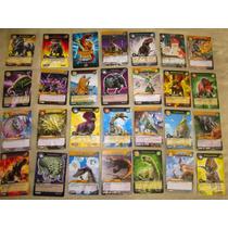 Lote De 10 Tarjetas Coleccionables Dinorey