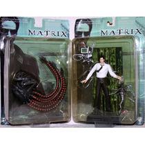 Sentinel Y Mr. Anderson Figuras De Matrix Coleccion Año 2000