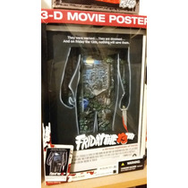 Viernes 13 Jason Friday The 13th 3-d Movie Poster