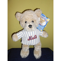 Peluche Osito Mets Nueva York Build A Bear 33 Cms