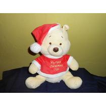 Peluche Winnie Pooh Baby Original Disney Sonaja 25 Cms