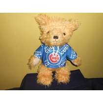 Peluche Oso Cachorros Chicago Mlb Oficial Good Stuff 35 Cms