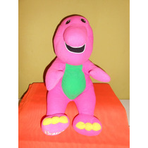 Peluche Barney Playskool Hasbro Habla 35 Cms