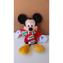 Padrisimo Peluche De Mickey Mouse Con Chamarra De Frio