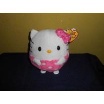 Peluche Hello Kitty Marca Ty Beanie Ballz 12 Cms