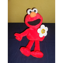 Elmo Fisher Price Flor Prende Y Canta 40 Cms