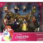Parques Disney Blancanieves Figurita Playset Set De Juegos C