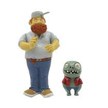 Plants Vs Zombies 3 Pulgadas Figura - Crazy Dave Con Imp