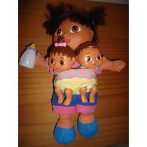 Dora La Exploradora Con Hermanos Bebes Fisher Price 2004