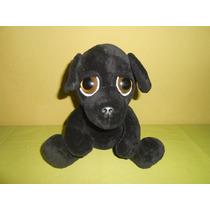 Peluche Perrito Negro 25 Cms Marca Petting Zoo Ojos Hermosos