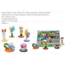 Handy Manny Set De Figuras Capsula Disney