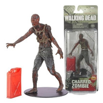 Charred Zombie Serie 5 De La Serie Tv The Walking Dead