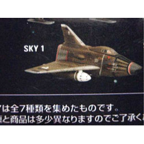 Serie Tv Ufo Ovni / Sky One Konami Gashapon / Gerry Anderson