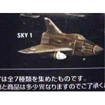 Serie Tv Ufo Ovni / Sky One Konami Gashapon / Gerry Anderson