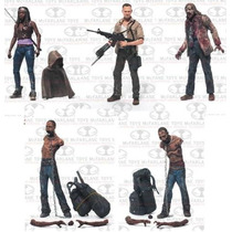 Set De 5 Figuras The Walking Dead Tv Serie 3
