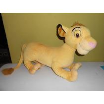 Peluche Simba Rey Leon Enorme 87x45 Cms Hasbro Disney