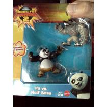 Kung Fu Panda Po Vs Wolf Boss Mattel Trabucle