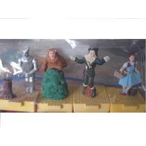 Mago De Oz 4 Figuritas Con Base Y Movimiento