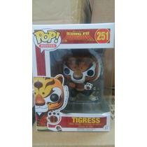 Figura Funko Pop De Tigresa De Serie Animada Kung Fu Panda