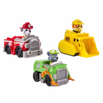 Nickelodeon, Paw Patrol Rescue Racers Marshal, Rubble, Rocky